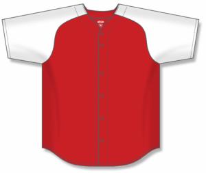 Proflex Two Colour Full-Button Baseball Jerseys