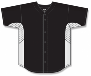 Proflex Full-Button Baseball Jerseys with Side Inserts