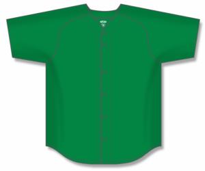 Proflex Solid Colour Full-Button Baseball Jerseys