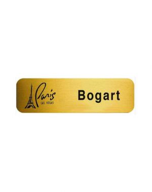Metal Plated Name Badge (2 1/2