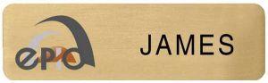 Metal Plated Name Badge (2.5