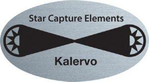 Metal Name Badge (Ellipse 2.5