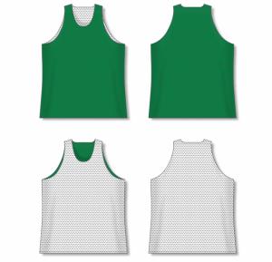 AK Mesh Traditional Cut Reversible Basketball Jersey