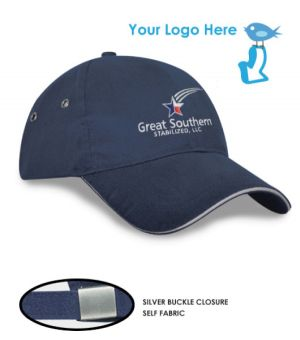 Polo Style Light Brushed Sandwich Cap (Adult/Youth)