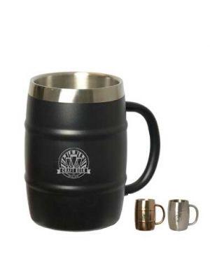 16 oz Brewmaster Barrel Mug