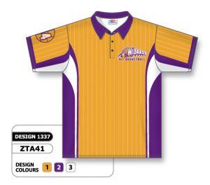 zta41 Sublimated Bowling Shirts