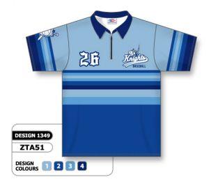 zta51 Sublimated Bowling Shirts