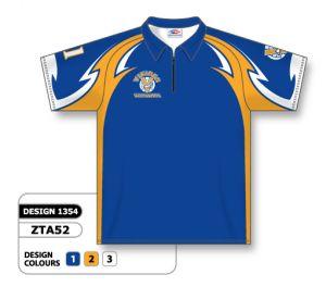 zta52 Sublimated Bowling Shirts