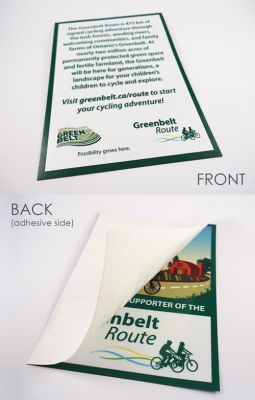 17 to 24 sq in, Full Colour Double-sided Decals (DSW/24R-4CP)