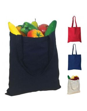 Classic Cotton Canvas Tote Bag