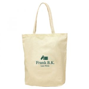 Lightweight Cotton Tote Bag with Gusset
