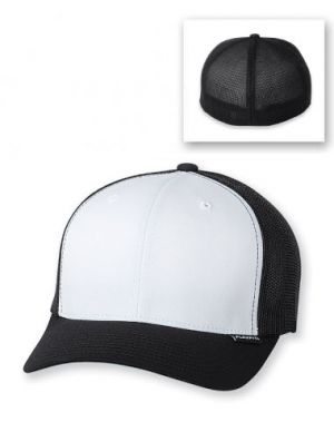 Flexfit Cotton Twill Mesh Trucker Hat