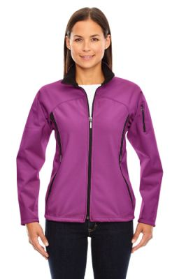 North End - Ladies' Performance Brushed Back Jacket