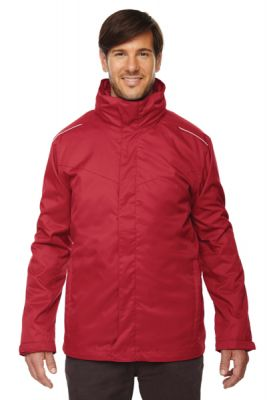 Core 365 - Men's Region 3-in-1 Jacket with Fleece Liner