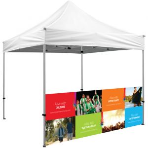 10' x 3' Optional Half Wall for Tent