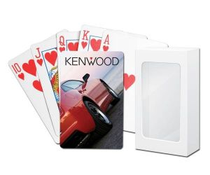 Genuine Poker Playing Cards with Standard Faces