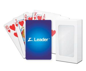 Standard Cardstock Poker Playing Cards with Standard Faces