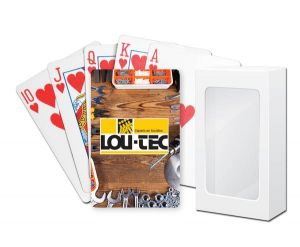 Standard Cardstock Bridge Playing Cards with Standard Faces