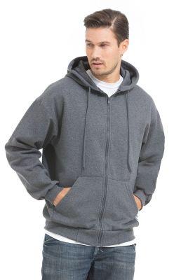 King Athletics Full Zip Hooded Sweatshirt