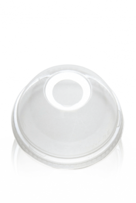 Dome Lids for Clear Plastic Cups