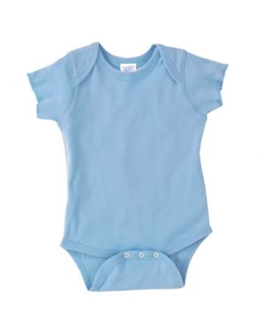 Rabbit Skins Infant Baby Rib Lap Shoulder Bodysuit