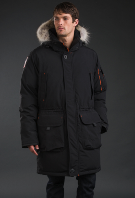 MASSAK - Men's Knee-Length Parka