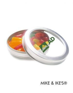 Small Top View Tin with Candies