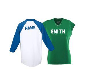 Custom Name for Sports Uniforms