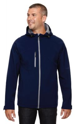 North End - Men's Soft Shell Jacket with Hood