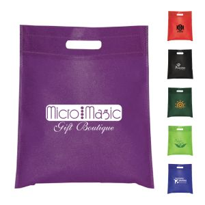 Non-Woven Cut-Out Handle Tote