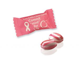 Individually Wrapped Red Striped Mega Mints