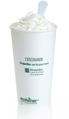 20 oz Compostable Hot Paper Cup