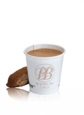 4 oz Compostable Hot Paper Cup