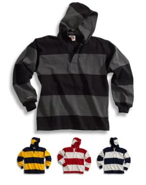 Traditional Cotton Hooded Rugby Shirts