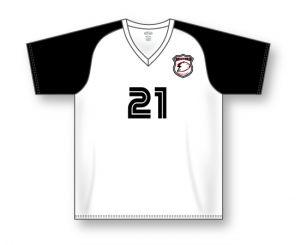 Wicking V-Neck Soccer Jersey