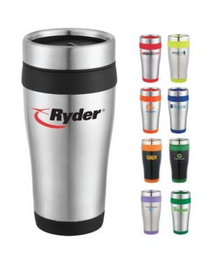 16 oz Carmel Travel Tumbler