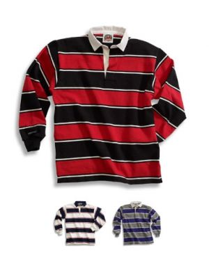 Traditional Cotton Soho Stripe Rugby Shirts