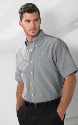 Van Heusen Men's Oxford Short Sleeves Shirt