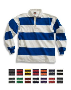 Traditional Cotton 4 Inch Stripe Rugby Shirts