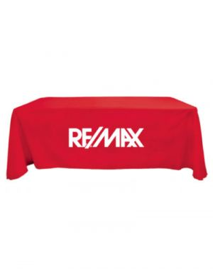 8' Extra-Large 1 Colour Logo Table Throw (Full Cover)