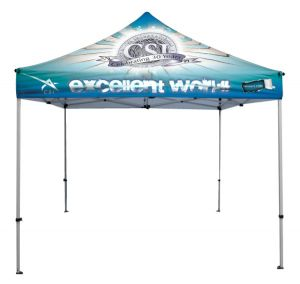 10' Square Tent - Full Colour Dye Sublimated