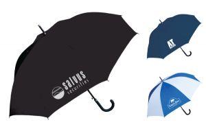 Plastic Curved Handle Executive Umbrella