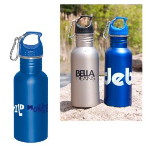 17 oz Wide Mouth Stainless Steel Water Bottle