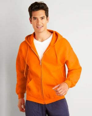 Gildan Full Zip Hooded Sweat