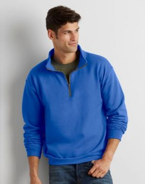 Gildan Heavy Blend Vintage 1/4 Cadet Collar Sweatshirt