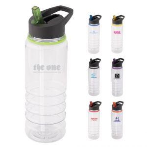 25 oz Clear Tritan Water Bottle