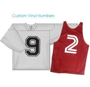 Vinyl Number for Sports Uniforms