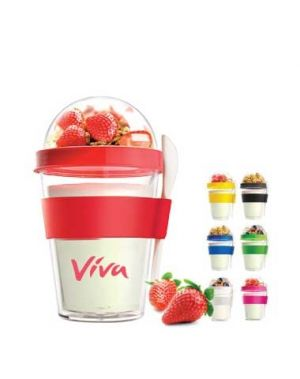 12 oz Yogurt 2 Go Cup with Spoon (YO2GO)