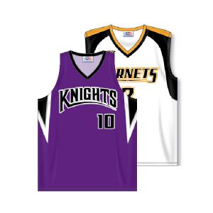 V-Neck Dry-Flex Sublimated Basketball Jersey
