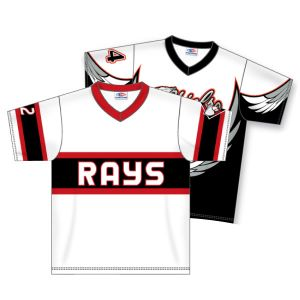 V-Neck Dry-Flex Sublimated Baseball Jersey